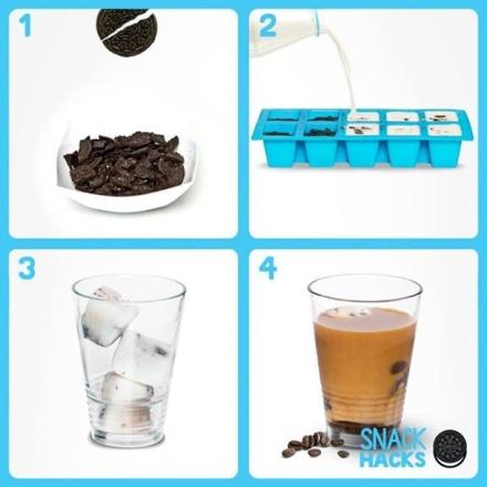 Genius-Food-Ideas-Oreo-Ice-Cubes